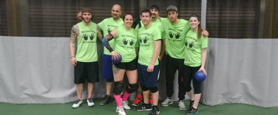 dodgeball team photo